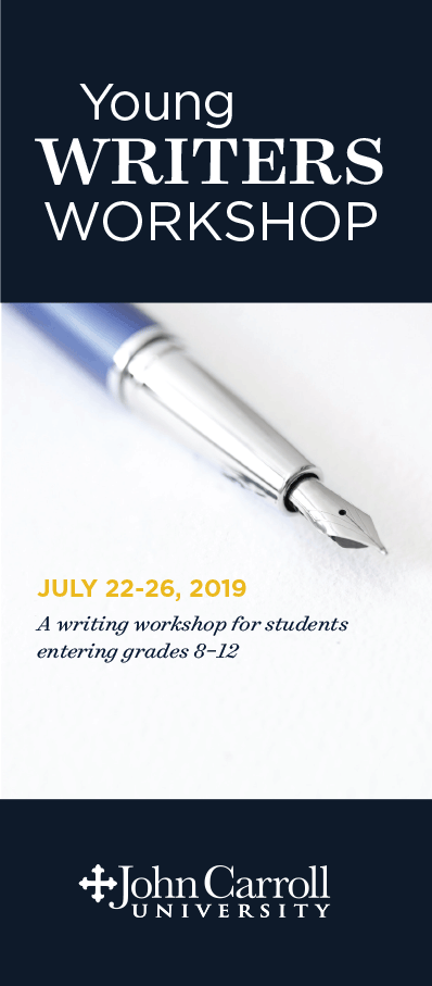 Young Writers Workshop Brochure